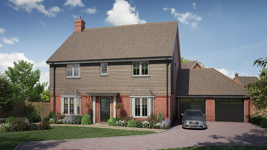 South east new homes round up the latest new homes for sale for The headcorn minimalist house kent